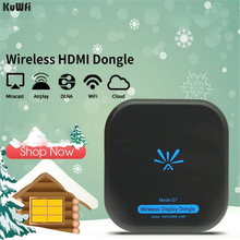 KuWFi TV Stick 5Ghz Wireless HD Digtal HDMI Dongle High Speed WiFi Display TV Dongle Support Miracast Airplay for Apple Android in stock measy a2w 4k tv dongle dual band 2 4ghz 5ghz wifi miracast airplay dlna tv stick support 4k ezcast wifi display dongle