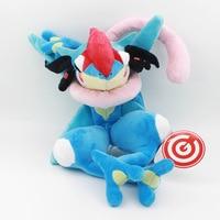 1pcs Japanese Anime Greninja Plush stuff action figure toy 6-30cm online game monster hunter doll d0