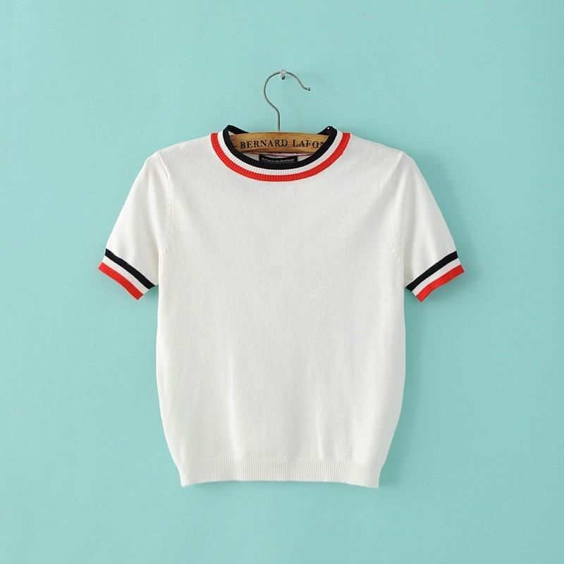 HTB1j44zLXXXXXczXXXXq6xXFXXXp - Women Knitted Crop Tops O-neck Short Sleeve Sweaters Sexy Streetwear PTC 245