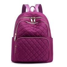 купить New Backpack Women Nylon Bagpack Casual Travel Backpack for Teenager Girls Schoolbag 2019 Sac A Dos mochila mujer дешево