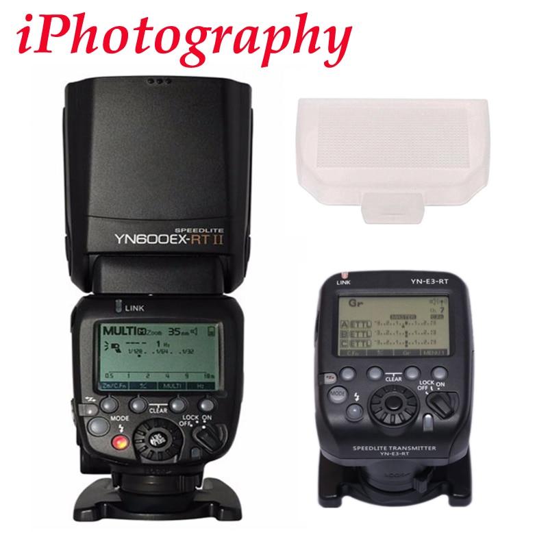 YONGNUO YN600EX RT II fit for YN E3 RT Wireless Flash Speedlite with Optical Master TTL