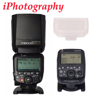 YONGNUO YN600EX-RT II fit für YN-E3-RT Wireless Flash Speedlite mit Optische Master TTL HSS für Canon 1200D 80D 6D 7D 5D mark IV
