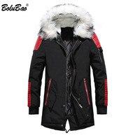 BOLUBAO Men Brand Warm Parka 2018 Winter Male Thickening Casual Overcoat Clothing Jackets Men Parka Coa