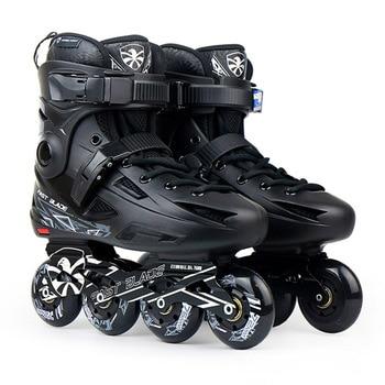 9760eb430408c2 100% Оригинальные Flying Eagle Быстрое перо Встроенные роликовые коньки  Falcon Профессиональный для взрослых роликовых коньках обуви слалом легкое,  .