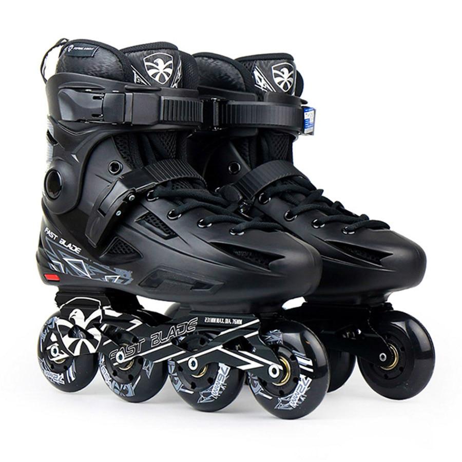 100% D'origine Flying Eagle RAPIDE LAME roller-skates Falcon Professionnel Adulte Chaussures Roller Slalom Coulissante Livraison De Patinage