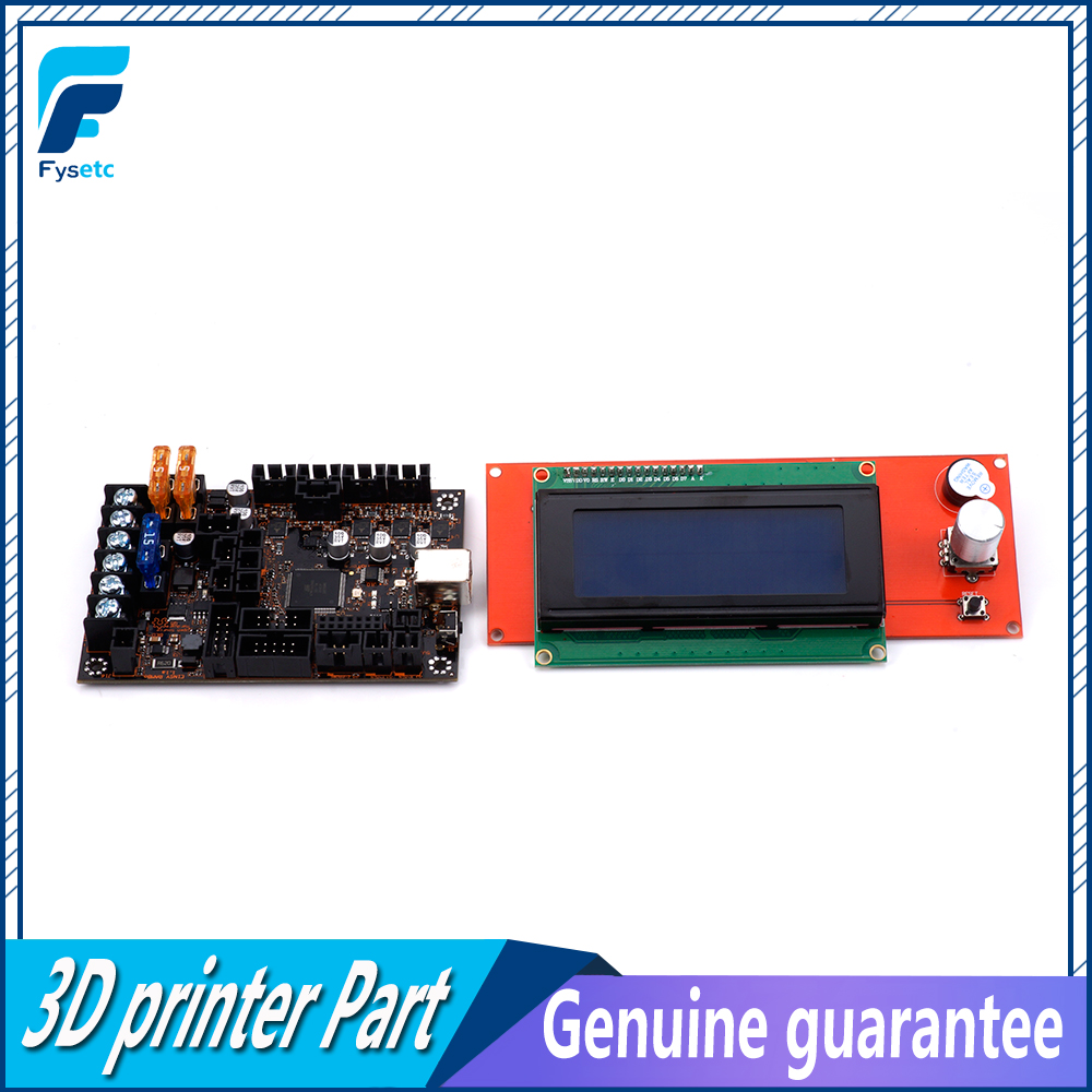 Image 3 - EinsyRambo 1.1a Mainboard For Prusa i3 MK3 With 4 Trinamic TMC2130 Control 4 Mosfet Switched Outputs + 2004 LCD Display-in 3D Printer Parts & Accessories from Computer & Office