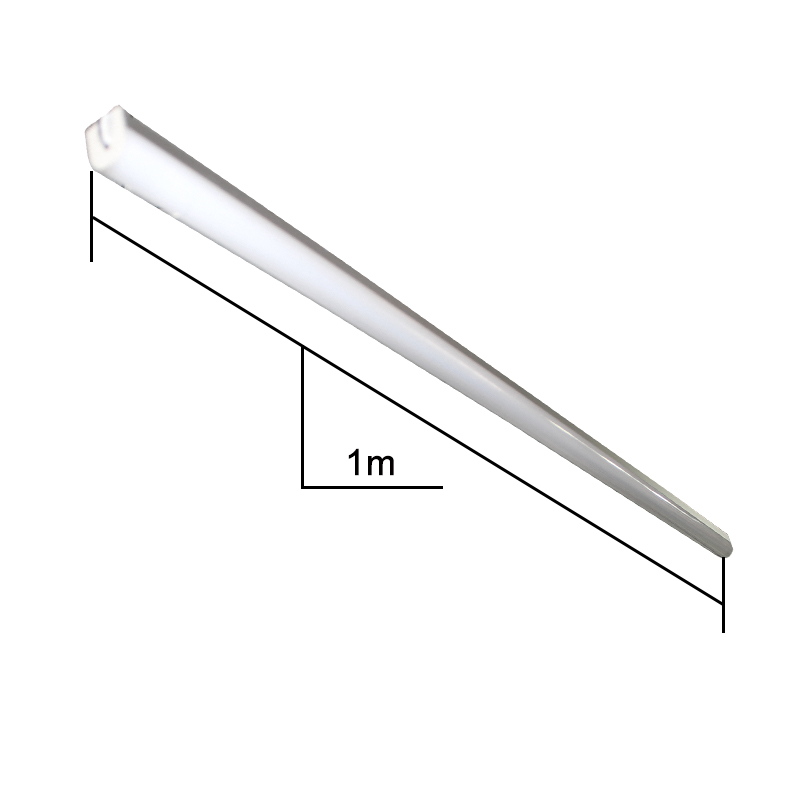6pcs / pack profil aluminium LED Lampu Bar loket lampu 1m 144leds - Pencahayaan LED - Foto 5