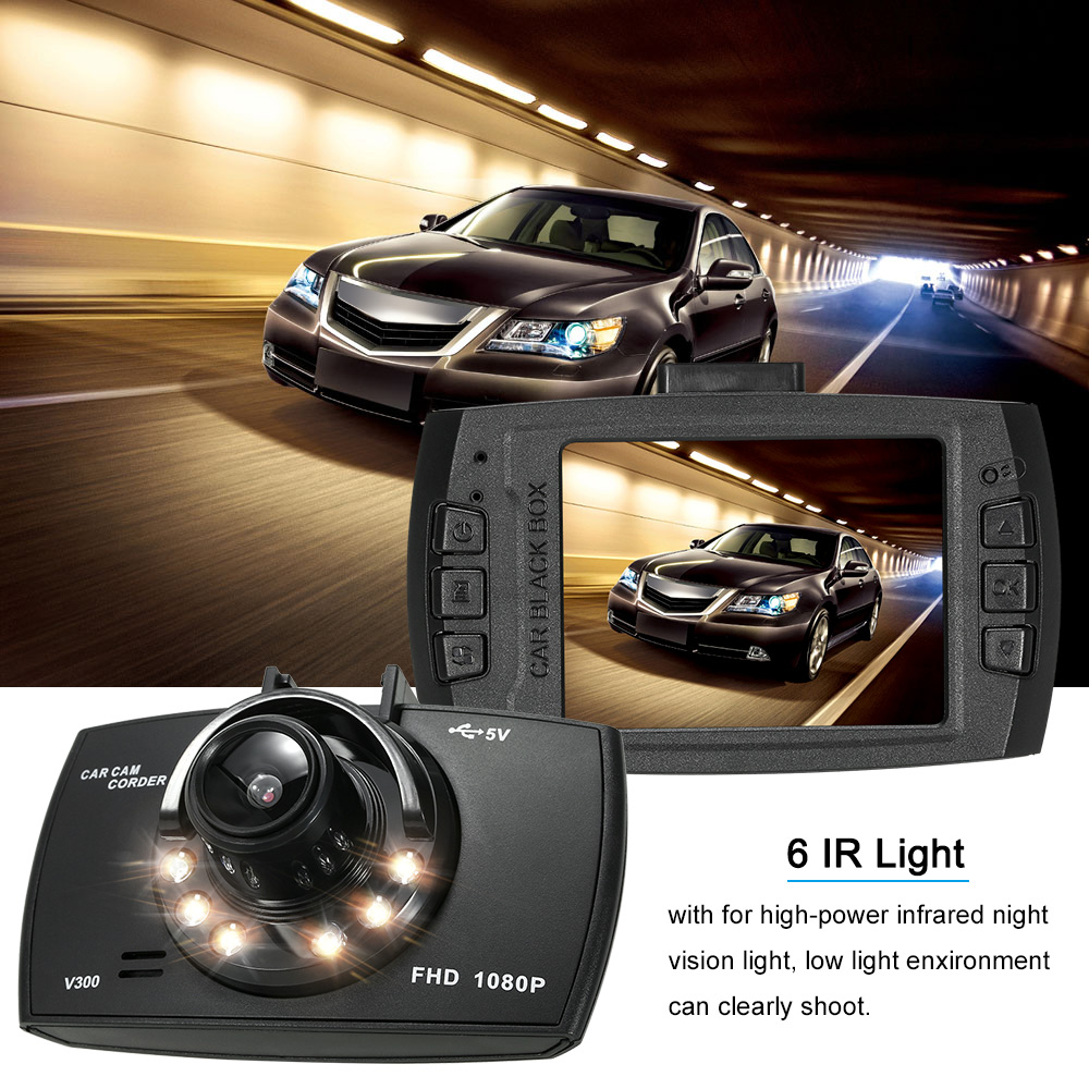 Car DVR Camera Dashcam Full HD 1080P Recorder Video Registrar Motion Detection /Loop Recording Dash Cam Black Box