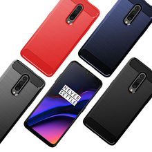 Phone Case For Oneplus 7 Pro Case Soft Silicone Back Shockproof Cover Anti-Slip One Plus 7 Pro Phone Cases