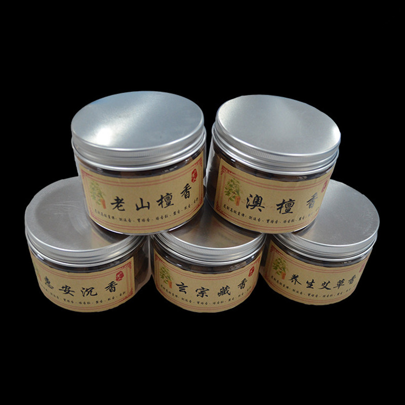 70 Pcs Natural Back-flow Cone Sandalwood