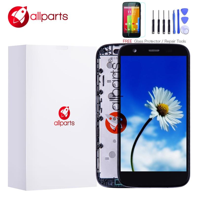 Probado para Motorola Moto G pantalla LCD pantalla táctil marco ...