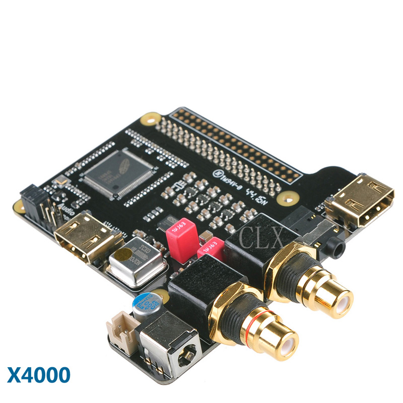 Raspberry Pi X4000 ES9018K2M Hi-Fi Player DAC Expansion Board for Raspberry Pi 3 Model B / 2B / B цена