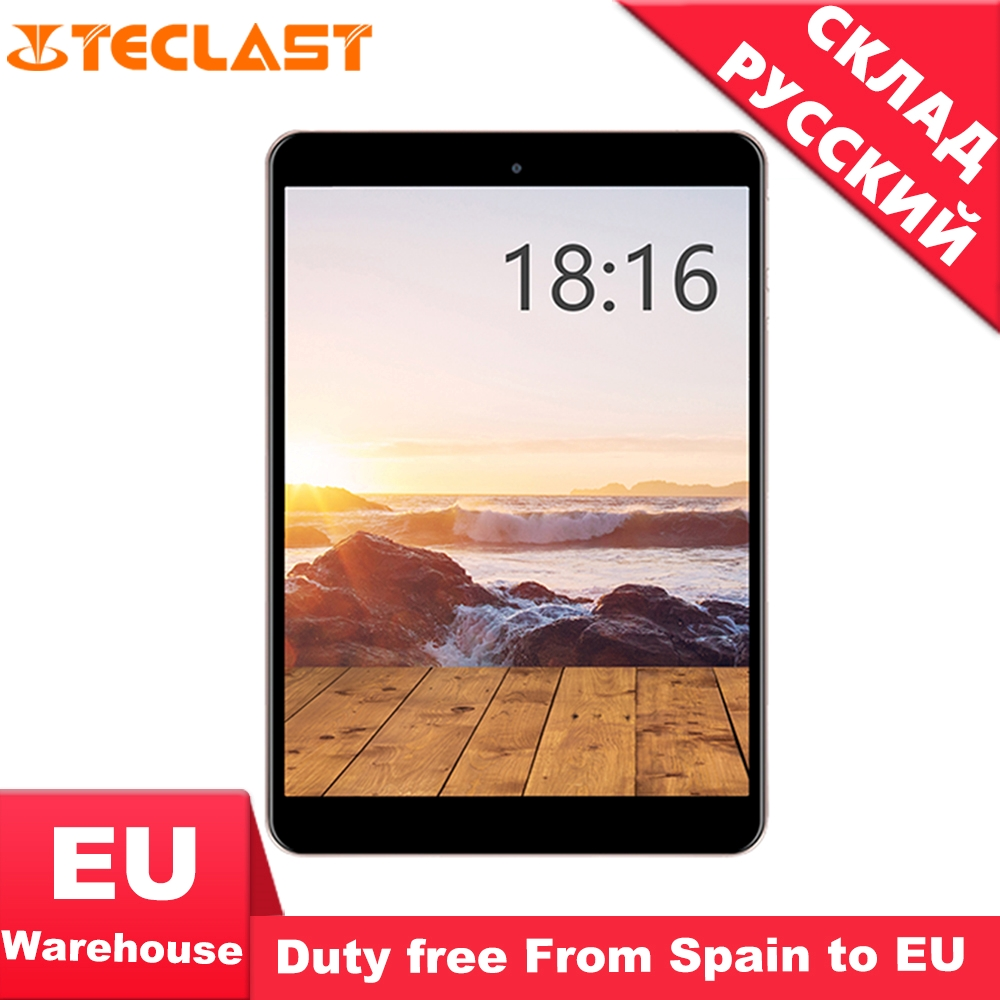 Teclast M89 Tablet Pc Hexa Core 3GB+32GB MTK8176 2.1GHz 7.9 Inch GPS OTG Double Cameras Dual WiFi TF HDMI Type-C