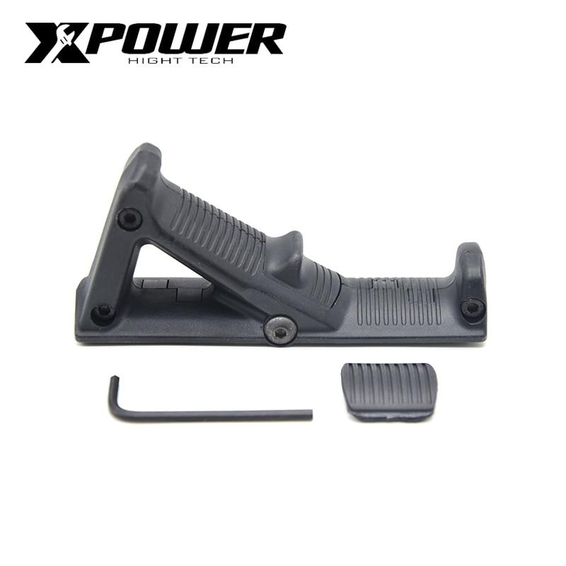 XPOWER AFG Handle Grip For Paintball AEG Pistol Air Guns Airsoft Accessories Gel Blaster Gen8 JM9 Wells M4