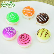 Artificial cake food cream model jam small round package personalized accessories