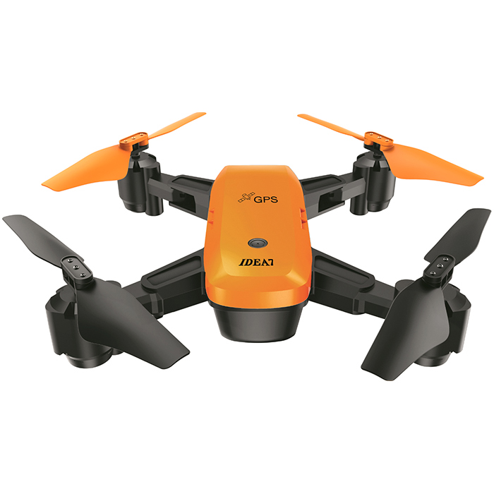 Le-Idea IDEA7 Foldable RC Drone 2.4G 720P Camera Quadcopters With GPS Altitude Hold Follow Waypoints Auto Return RC Airplanes rc airplanes s70w rc drone auto follow altitude hold 720p wifi camera gps return remote control fpv rc quadcopter drone