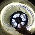 Tubo IP67 À Prova D' Água SMD 5050 5 m 300 LEDs DC12V tira CONDUZIDA luzes Destacar revestimento à prova d' água LED Flexível da lâmpada subaquática luzes