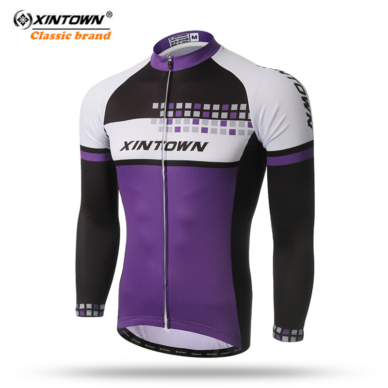 5a0112791 XINTOWN Cycling Jersey 2018 Pro Team Long Sleeve Cycling Clothing  Breathable mtb Bike Jersey Top Autumn Spring Bicycle Clothing-in Cycling  Jerseys from ...