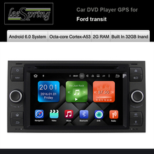 Android 6.0 Operation System Built In 32GB Inand 2G RAM Car DVD Player for Ford transit Intelligent multimedia player