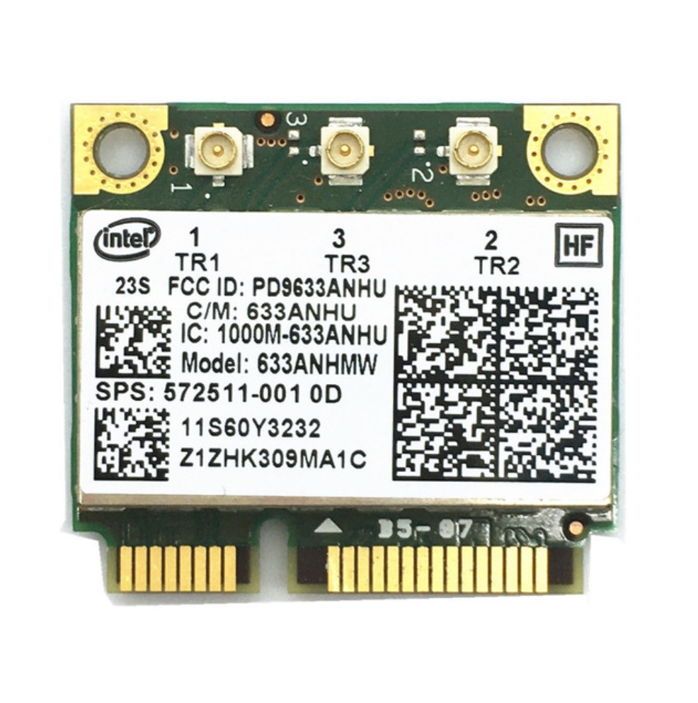 Wireless Wifi  60y3233 Intel 6300agn Mini Pci-e Pcie  Card Ultimate-n 802.11a/g/n 2.4g  5.0 Ghz ForT410 T420 T430 X220 Y460