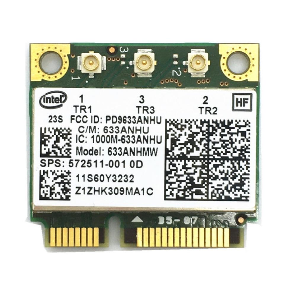 Wireless Wifi  60y3233 Intel 6300agn Mini Pci-e Pcie  Card Ultimate-n 802.11a/g/n 2.4g  5.0 Ghz ForT410 T420 T430 X220 Y460