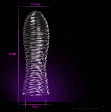 Extensions condom Penis Sleeve Male Enlargement Men Delay Spray clit massager Cock Ring vibrating cover Adult Sex Toys 11.11