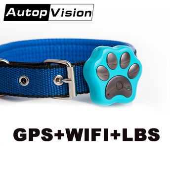 V30 5PCS/lot GPS pets tracker dog cat GPS phone real time tracking LBS WIFI GPS location tracker