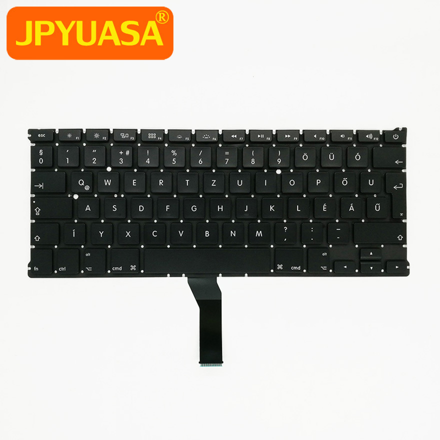 5pcs/lot New A1369 A1466 Hungarian Keyboard For Apple Macbook Air 13 A1369 A1466 Hungary Laptop Keyboard 2011-2015 hsw rechargeable battery for apple for macbook air core i5 1 6 13 a1369 mid 2011 a1405 a1466 2012
