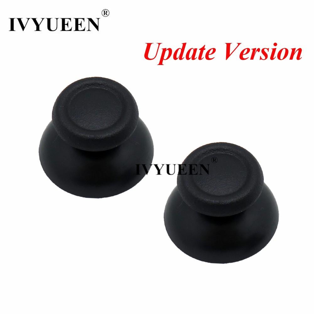 IVYUEEN 100 PCS Black Gray Thumbsticks Cap For Dualshock 4 PS4 DS4 Pro Slim Controller Analog Thumb Stick Cover for PlayStation4IVYUEEN 100 PCS Black Gray Thumbsticks Cap For Dualshock 4 PS4 DS4 Pro Slim Controller Analog Thumb Stick Cover for PlayStation4