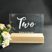 Personalized Wedding Table Numbers, Custom Table Number, Acrylic Numbers, Wedding Table Decor, For wedding Decor