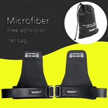 Weight Lifting Gloves Straps Gym Fitness Hand Grip Guard Palm Protector Pull Up Wrist Support Wraps