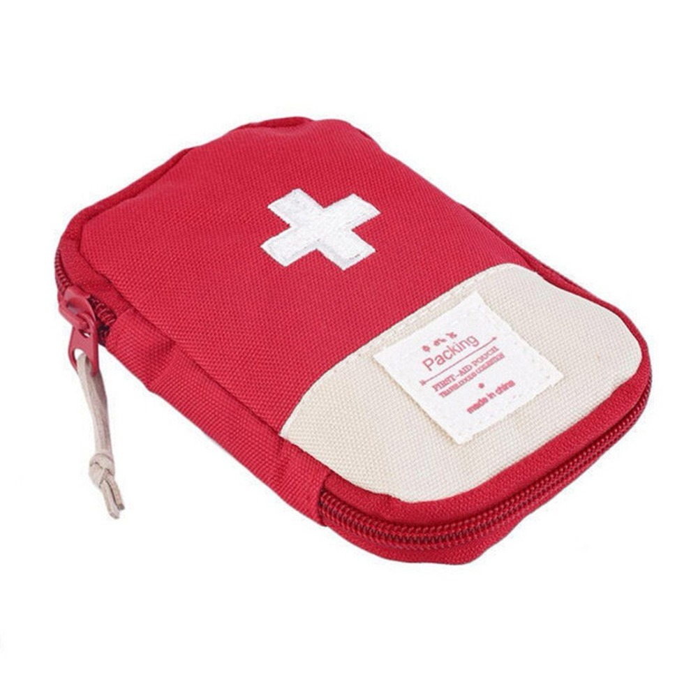 Travel Medical Bag  kit Mini Car  Home Small Medical box Emergency Survival kit Home Rescue  travel duffle bag