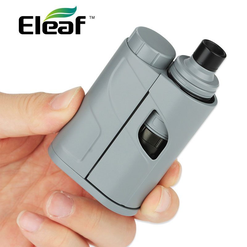 Original Eleaf iKonn Total Vaping Kit 50W with Ello Mini Tank 2ml with HW1 Single/HW2 Dual Coil E-cig BOX iKonn Total NO Battery original eleaf ikonn total mod 50w match ello mini or ello mini xl electronic cigarette dual circuit protection vape mod ikonn
