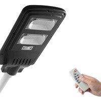 야외 방수 ip65 30 w 60 w 90 w 태양 led 거리 빛 foco 태양 led de calle 태양 강화한 정원 led 램프