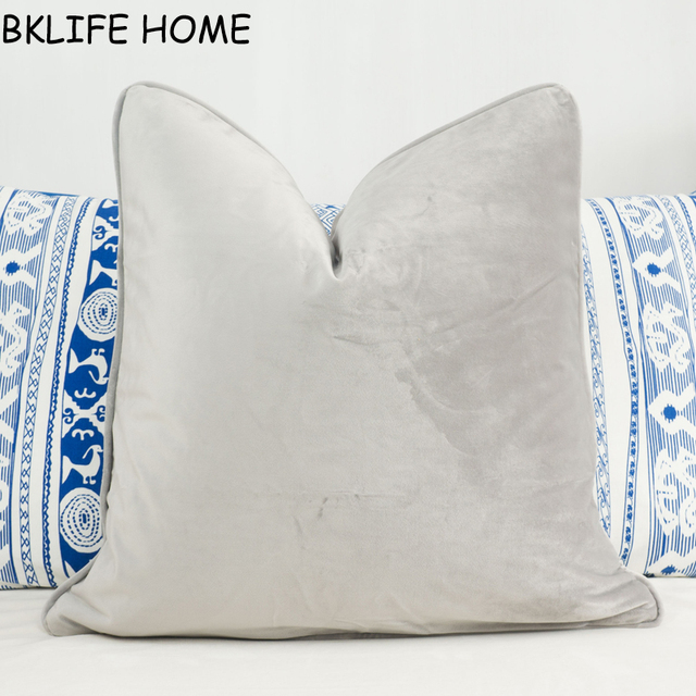 silver of photo pillow grey crushed contemporary outletsbug pillows aviva decorative velvet com gray x