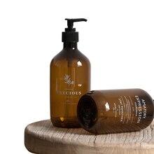 Bathroom Soap Bottle Hand Sanitizer Bottle Press-type Shampoo Bottle Portable Shower Gel Organize Container 500ml
