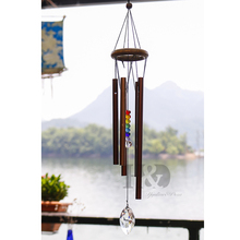 Chakra Outdoor Living Wind Chimes Yard Antique Amazing Garden Tubes Bells Copper Home Windchime Wall Hanging Home Decor