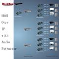 HSV891 (1 Передатчик и 4 Приемника) 1080 P 150 м HDMI extender над TCP/IP с Audio Extractor через UTP/STP CAT5e/6 Rj45 LAN