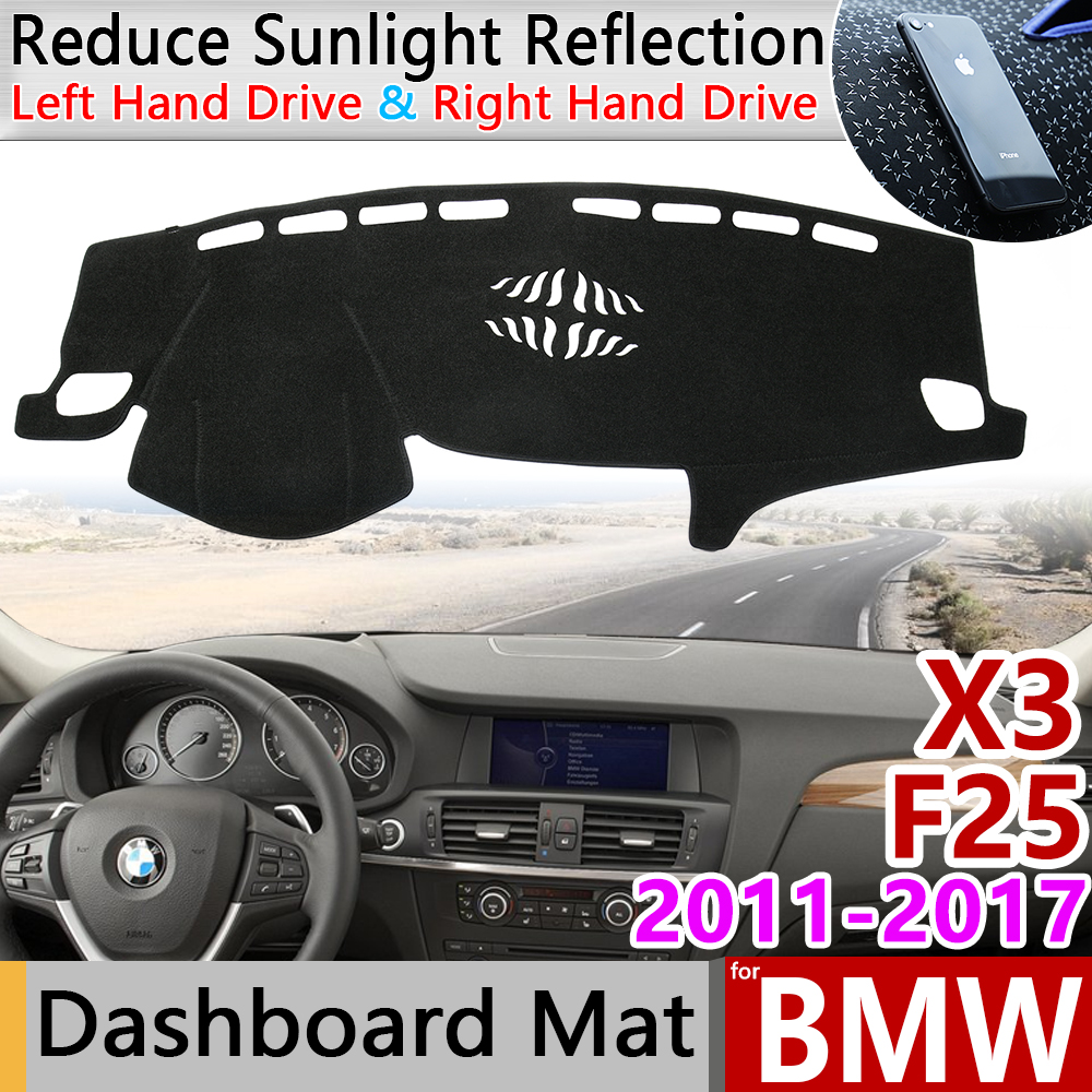 for <font><b>BMW</b></font> <font><b>X3</b></font> F25 2011 2012 2013 2014 2015 2016 <font><b>2017</b></font> Anti-Slip Mat Dashboard Cover Pad Sunshade Dashmat Carpet Cape Car <font><b>Accessories</b></font> image