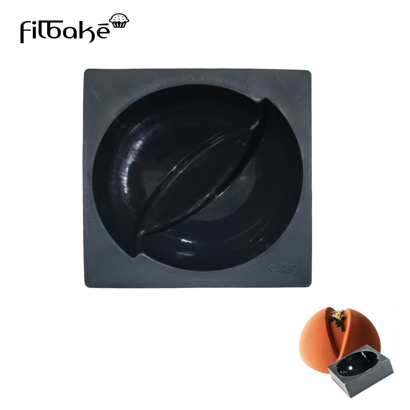 FILBAKE Hemispherical Silicone Mold Chocolate Cake Semicircular Soap  Of Baking Be Molds DIY Tools For Selll