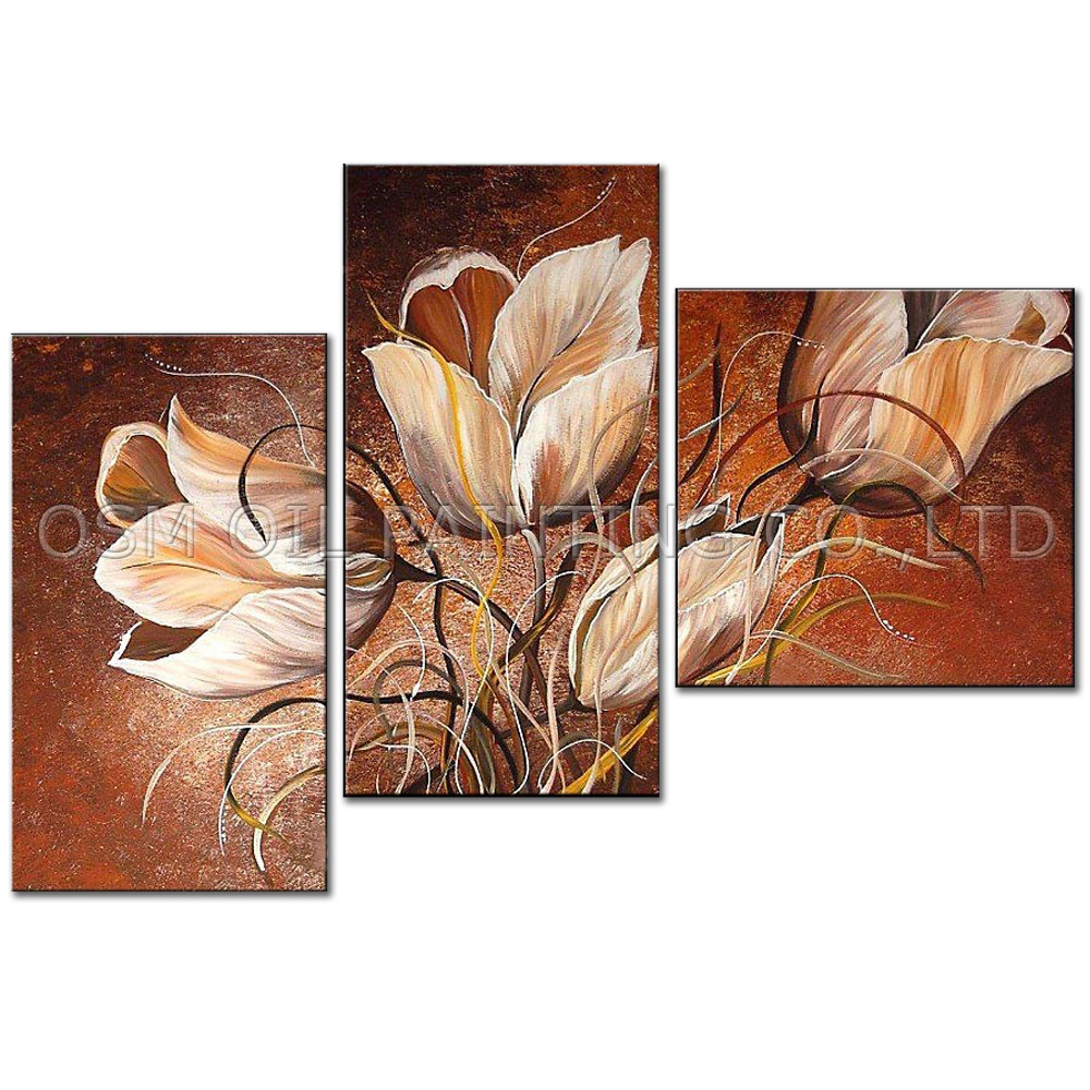 Professional Artist Hand Painted High Quality Abstract: Professional Artist Handmade High Quality Abstract Flower