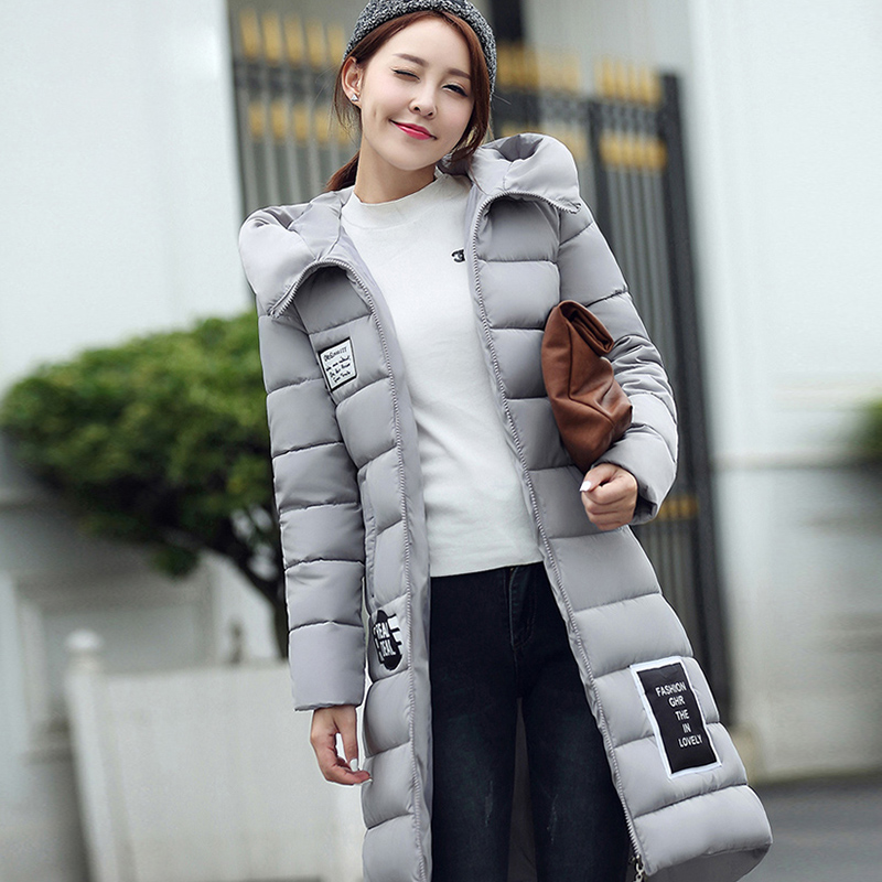 Jacket Warm Woman Parkas Female Overcoat Hooded Plus Size Winter Thick Coat Jaqueta Feminina Chaqueta Mujer Casacos De Inverno women winter long thick jacket warm woman parkas female overcoat high quality 2017 new hooded red plus size loose coat 4xl 5xl