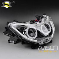 For YAMAHA NMAX 155 NMAX155 2016 2017 2018 Modified Motorcycle Parts Nmax HID Head Light Headlamp Front Lamps