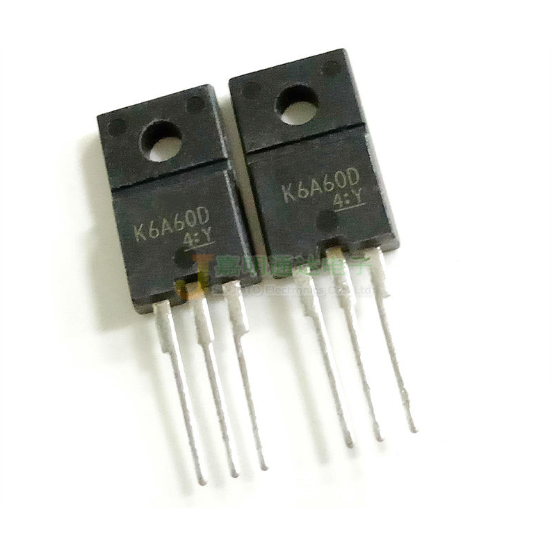 5pcs/lot <font><b>K6A60D</b></font> TK6A60D 6A 600V MOSFET TO-220F plastic N channel new original Immediate delivery image