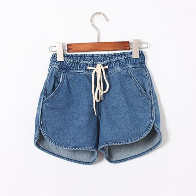 New Arrival Fashion Brand Summer Women Shorts Loose Cotton Short Casual female Slim High Waist Denim Shorts