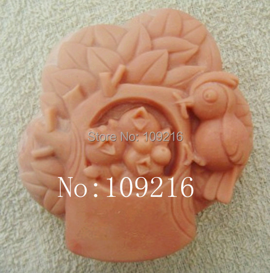 wholesale!!!1pcs The Song of Happiness (zx602) Silicone Handmade Soap Mold Crafts DIY Mould