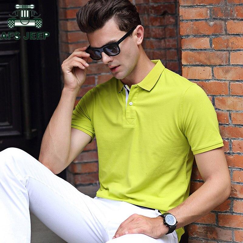 Brand   Polo   shirt Men 2018 High Quality Business men   Polo   Shirts Cotton Turn-down collar   polo   homme Plus Size 3XL camisa   polo