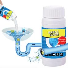 100G Bubble Foaming Cleaner Powerful Pipe Dredging Agent Universal Toilet Drain Sink Cleaning