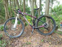 Trident Thrust Mtb Complete Bike 27 5 29er Carbon Frames Bicycle Carbon Mountain Bicycle Mtb Frame