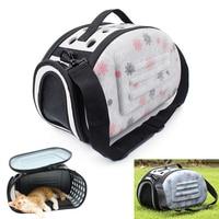 2017 Pet Nhỏ Dog Cat Xách Tay Hai Mặt Carrier Travel Tote Shoulder Bag Lồng Cũi apr3_35